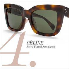 CÉLINE Retro Flared Sunglasses