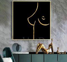 #Black #blackwork #painting #female #Breasts #lineart #Art #blackart #originalpainting #etsy #officedecorideas #original #onelineart #interior #pinterest #abstractlineart #abstract t #oneline #minimalist #sensualpainting #trendy #interiordesignideas #bedroomdesign #trendart  #onelinedrawing #feminineart #body #sensualwallarft #minimalart Large Canvas Wall Art, Extra Large Wall Art, Silver Wall Decor, Trending Art, Abstract Line Art, Wall Art For Sale, Bedroom Art, Line Drawing, Original Paintings