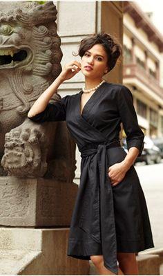 ... black dress
