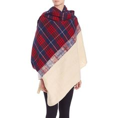 Standard Form Grunge Plaid Cashmere & Wool Blanket Scarf ($220) ❤ liked on Polyvore featuring accessories, scarves, apparel & accessories, blanket scarf, wool scarves, tartan cashmere scarves, tartan scarves and tartan plaid shawl