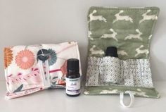 Learn How to Sew an Essential Oil Bottle Pouch
