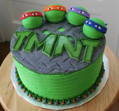 Teenage Mutant Ninja Turtles Cake: Pick Your favorite Ninja and Eat It Too!