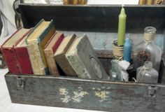What Can you do with a garage sale tool box? / Rusty Salvage Rose