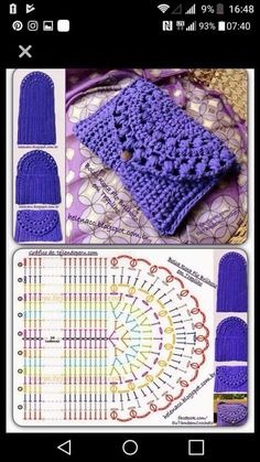 Kaleidoscope Mandala Bag Croch Discover thousands of images about Crochet purse pattern, only diagram , good enoughDiscover thousands of images about Monedero o bolsito tejido a crochet de una sola pieza piece crochet purse)!The prettiest crochet pur Crochet Purse Patterns, Crochet Pouch, Crochet Gifts, Diy Crochet, Crochet Doilies, Crochet Bags, Crochet Amigurumi, Hat Patterns, Knitting Patterns