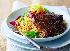 Steak Over Noodles Recipe on http://danischellenberg.blogspot.com and http://www.pinterest.com/dani1653/ #food #recipes #delicious