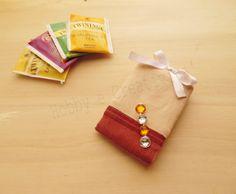Porta tea da viaggio #thecreativefactory #handmadewinter | Hobby e Creatività