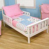 Found it at Wayfair - Cupcake 4 Piece Toddler Bedding Set