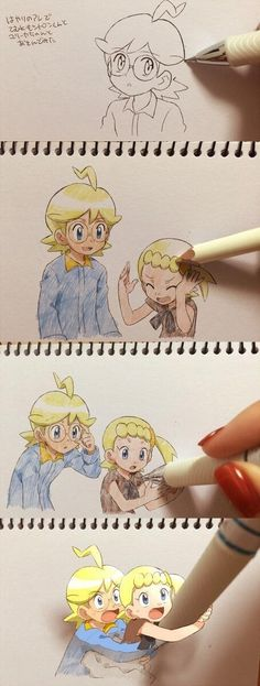 Clemont and Bonnie