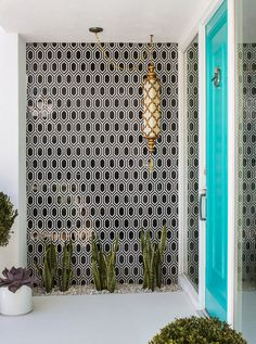 Christopher Kennedy Compound 2015 Modernism Week Show House Palm Springs Houses, Palm Springs Style, Home Design, Web Design, Exterior Design, Interior And Exterior, Retail Interior, Exterior Colors, Contemporary Interior