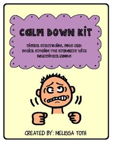 Calm Down Kit- For students with special needs