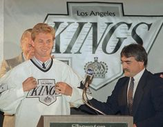 The anniversary of the Wayne Gretzky trade from the Edmonton Oilers to the Los Angeles Kings came and went on Aug. King Baby, My King, Nhl Shop, La Kings Hockey, Wayne Gretzky, Los Angeles Kings, Win Or Lose, Sports Images, World Of Sports