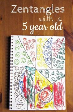 Fun art activity to do together :: Zentangles frees kids up to explore their creative side.