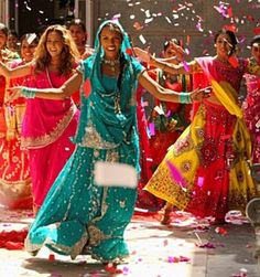Dancing At An Indian Wedding Visit Www Weddingsonline In For More Inspiration Bollywood Costume