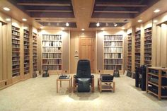 What a great listening room, check out Audiogon.com for complete info on this build