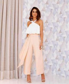 42 Fashionable Dressy Pants Outfits Ideas For Summer Chic Outfits, Spring Outfits, Trendy Outfits, Look Camila Coelho, Dressy Pants, Outfit Trends, Look Chic, Mode Inspiration, Pants Outfit