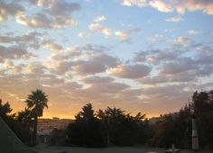 Sunrise Clouds San Francisco