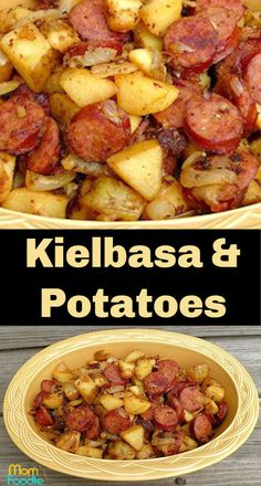 kielbasa and potatoes - easy Kielbasa recipeYou can find Kielbasa recipes and more on our website.kielbasa and potatoes - easy Kielbasa recipe Crock Pot Recipes, Easy Kielbasa Recipes, Smoked Sausage Recipes, Easy Potato Recipes, Pork Recipes, Slow Cooker Recipes, Cooking Recipes, Polish Sausage Recipes, Kilbasa Sausage Recipes