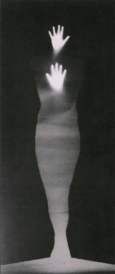 Sound of Two Hand Angel --Bruce Conner-- Gelatin silver print photogram. Bw Photography, Louise Bourgeois, Ghost In The Machine, Photocollage, Gelatin Silver Print, Cyanotype, Black And White Photography, Portrait, Light In The Dark