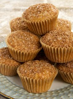 Maple Nut Muffins combine sweet, rich maple syrup with cinnamon and your favorite nuts for a wonderfully delicious morning treat.