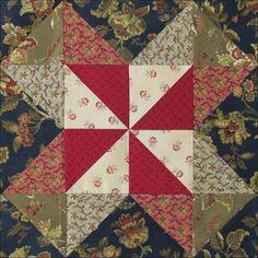 Austen Family Album: Block 16: Lucky Pieces for Aunt Jane Leigh-Perrot