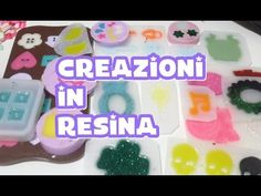 Scopriamo le nuove creazioni in resina #69 - YouTube