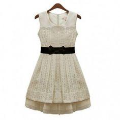 plitzenkleid weiss dress