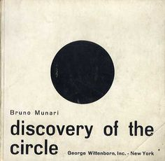 Bruno Munari: Discovery of the Circle/Discovery of the Square 2冊組 Bruno Munari 1965年/George Wittenborn