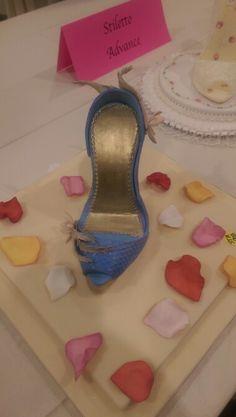 Gum Paste Stiletto Shoe