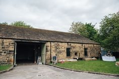 Yorkshire barn wedding venue.  East Riddlesden Hall, Keighley, North Yorkshire.  © Emilie May Photography