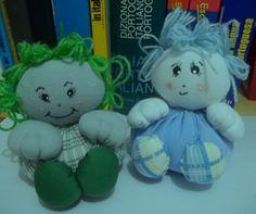 Bonecas de fuxico feitas com sobras de tecidos #reaproveitar  #artesanato #bonecas