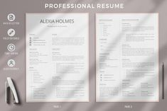 R23-Alexia Holmes-2 Microsoft Word Resume Template, Simple Resume Template, Creative Resume Templates, Cv Template, Resume Cover Letter Examples, Resume Objective Examples, Cover Letter For Resume, Cv Examples, Simple Cover Letter