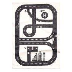 Zwart wit speelkleed H&M
