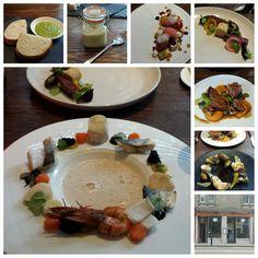 The Atelier restaurant, Edinburgh