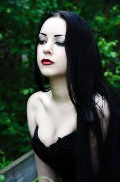 ImageFind images and videos about beauty, gothic and goth women on We Heart It - the app to get lost in what you love. Gothic Girls, Hot Goth Girls, Dark Beauty, Goth Beauty, Gothic Dress, Gothic Lolita, Dark Fashion, Gothic Fashion, Steampunk Fashion