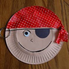 Story Time Tuesday w/ Paper Plate Pirate Craft Paper Plate Art, Paper Plate Crafts For Kids, Paper Plates, Paper Crafts, Pirate Activities, Craft Activities, Preschool Crafts, Kids Crafts, Pirate Day