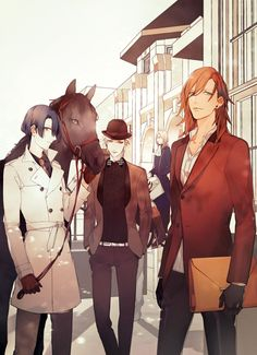 Uta no Prince-Sama #anime WHY DOES MASATO OR WHATS HIS FACE HAVE A HORSE?????? WHATS GOING ON