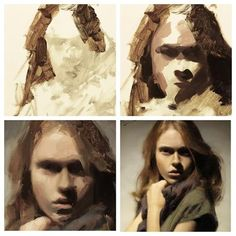 Oil painting progression by Casey Baugh Painting People, Figure Painting, Painting & Drawing, Painting Process, Painting Techniques, Oil Painting Tutorials, Portrait Art, Art Tutorials, Painting Inspiration