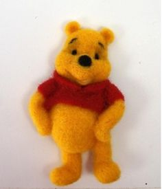 Disney Winnie the Pooh needle felting