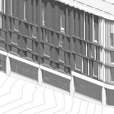 Victoria Gate Arcades Ansicht http://www.baasl.co.uk/projects/victoria-gate-leeds/ #Facades #Arcade #Architecture