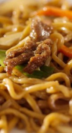 Easy Asian Beef & Noodles (Weight Watchers) REcipe