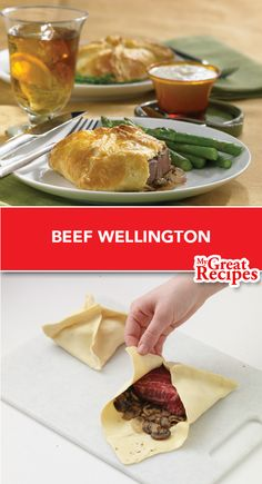 Named for the 1st Duke of #Wellington , this delectable dish stands the test of time! Make history at your house serving this distinguished meal. #beef