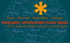 Infographic - Unfathomable Ocean depths