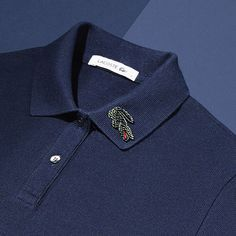 combo perfect intre peacocking si smart wear Lacoste Polo, Golf Shirts, Crocodile, Polo Ralph Lauren, Menswear, Mens Fashion, Model, Mens Tops, How To Wear