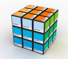 Pantone Rubiks Cube