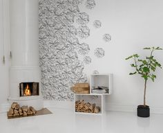 Hey,+look+at+this+wallpaper+from+Rebel+Walls,+Florigami!+#rebelwalls+#wallpaper+#wallmurals