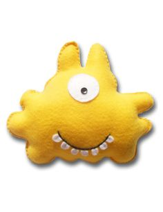 Babua Soft Toys by babua Softies, Plushies, Felt Crafts, Crafts To Make, Kids Class, Cute Monsters, Felt Toys, Felt Ornaments, Animal Pillows