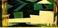 Владимир Татлин Эскиз декорации к опере Глинки Жизнь за царя 1913 г.