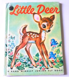 Vintage Rand McNally Junior Elf Book Little by lisabretrostyle SOLD