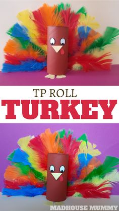 TP Roll turkey craft for kids
