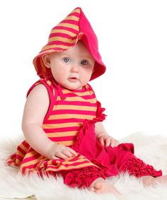 Look at this Fuchsia Alina Dress & Leggings - Infant & Toddler on #zulily today!
